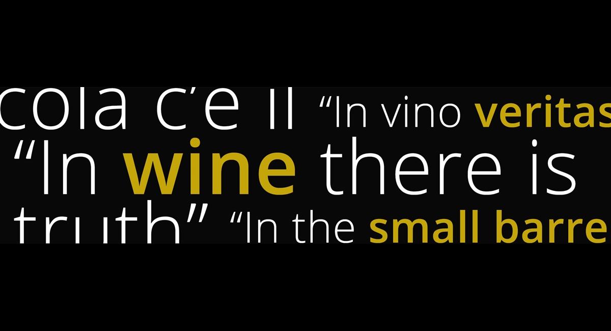 10 Italian Proverbs about Wine | Famiglia Cecchi